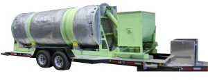 5' x 15' Mobille BioReactor with Mixer and Generator