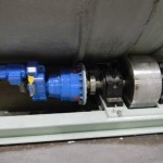 4 Friction Drives Rotate the BioReactor